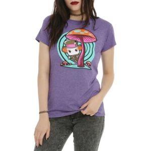 POP! Alice in Wonderland Mad Hatter Purple Shirt